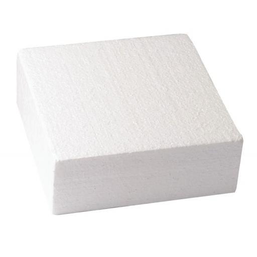"""Square Cake Dummy - Square Edge 12x3"""""""