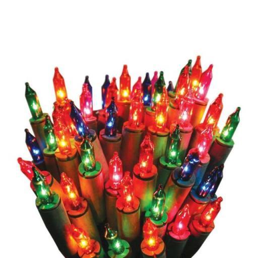 20 Multicolour Fairy Lights 3.4m lengh