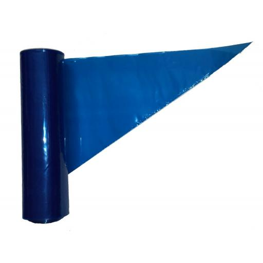18Inch Blue Icing Bags 100Pk