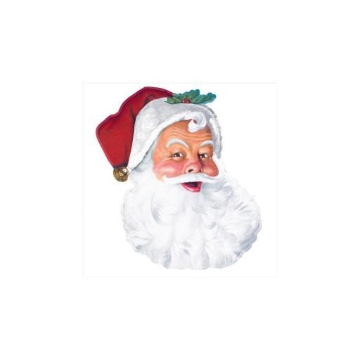 Santa Face Cut Out