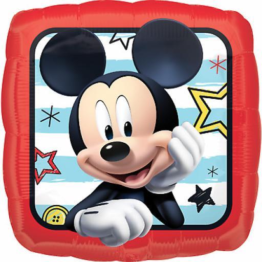 18'' Disney Mickey Mouse Foil Balloon