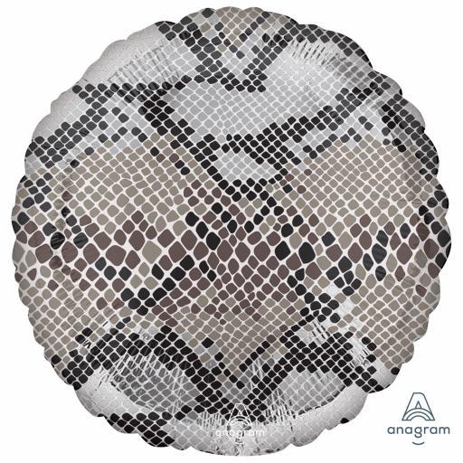 Animalz Snake Skin Print Standard Packaged Foil Balloon