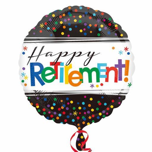 Officially Retired Standard Foil Balloon