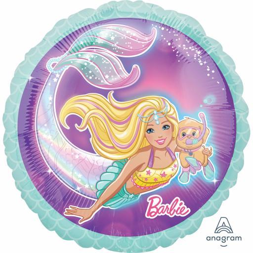 Barbie Mermaid Standard Foil Balloons