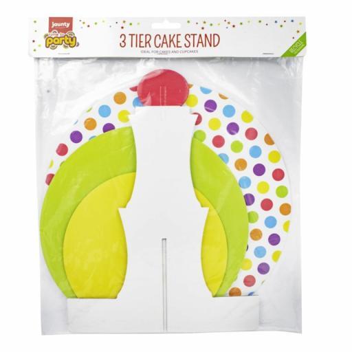 3 Tier Cake - Cupcake Stand