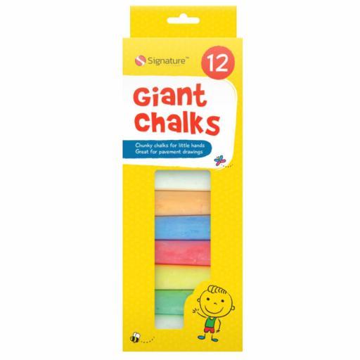 12 Giant Chalks
