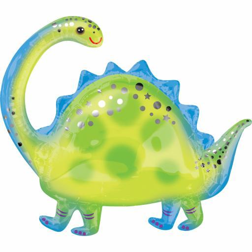 Brontosaurus SuperShape XL Foil Balloons