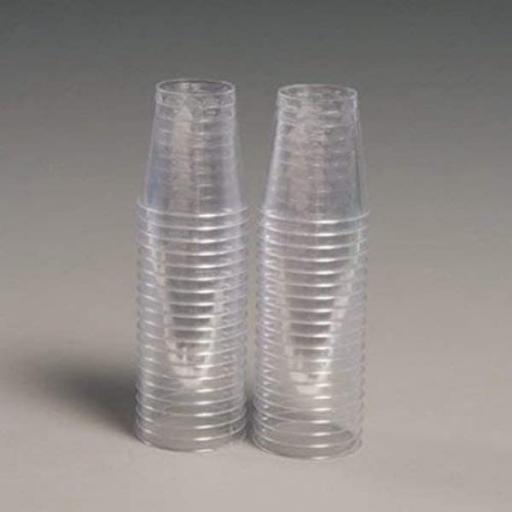 50 Plastic Shot Glasses