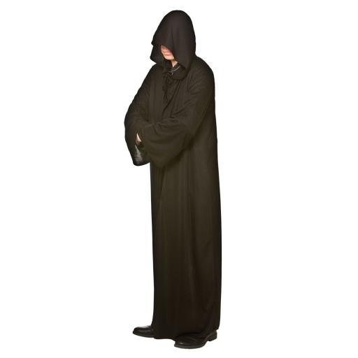 Adult Hooded Robe - Black