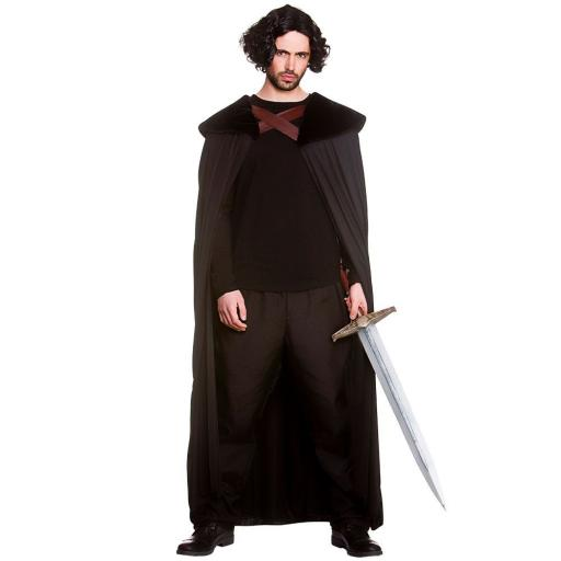 Medieval Robe Faux/Fur Collar - One Size