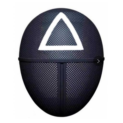 Squid Game Mask Triangle