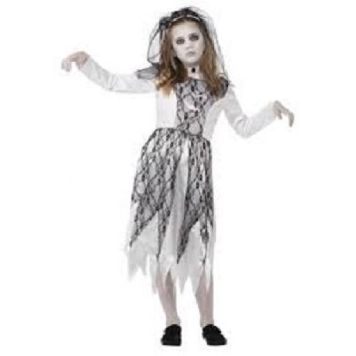 Ghostly Bride Costume Size M