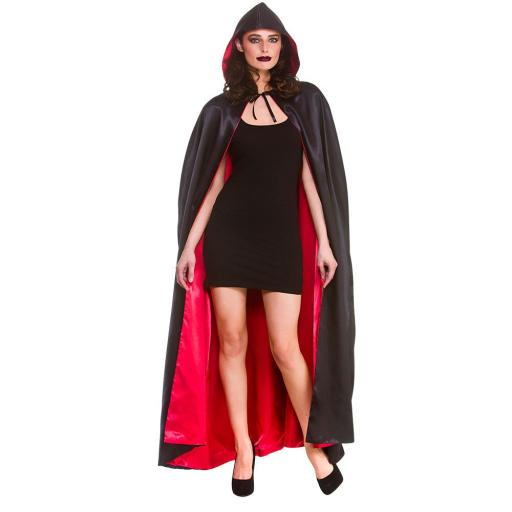 Super Deluxe Satin Hooded Cape