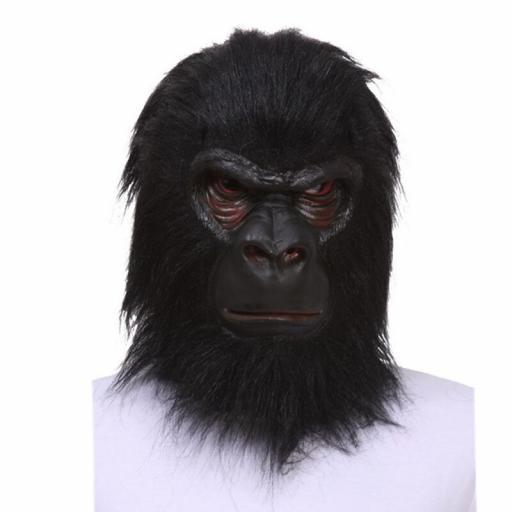 Latex Mask Gorilla